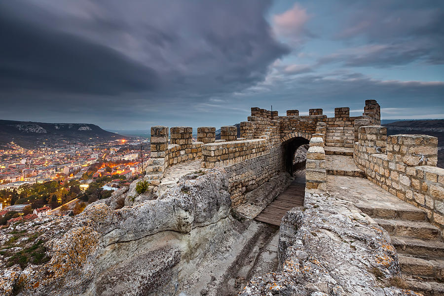 Bulgaria Photograph - Ovech Fortress by Evgeni Dinev