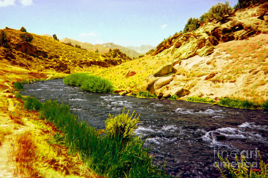Owens River Valley Photograph