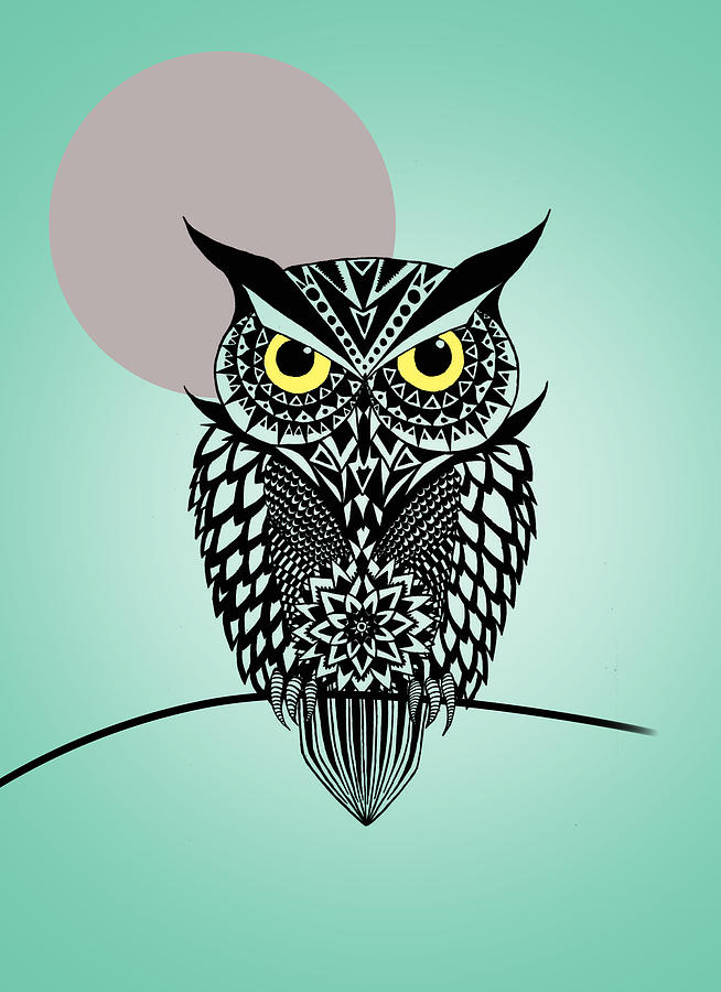 Owl 5 is a piece of digital artwork by Mark Ashkenazi which was ...