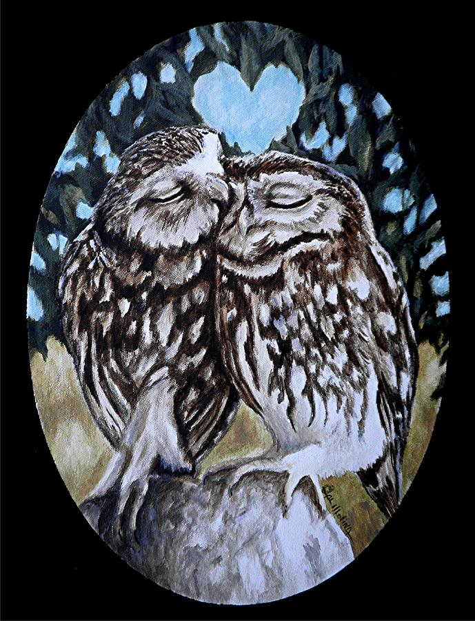 Owl Always Love You Painting by Al Molina
