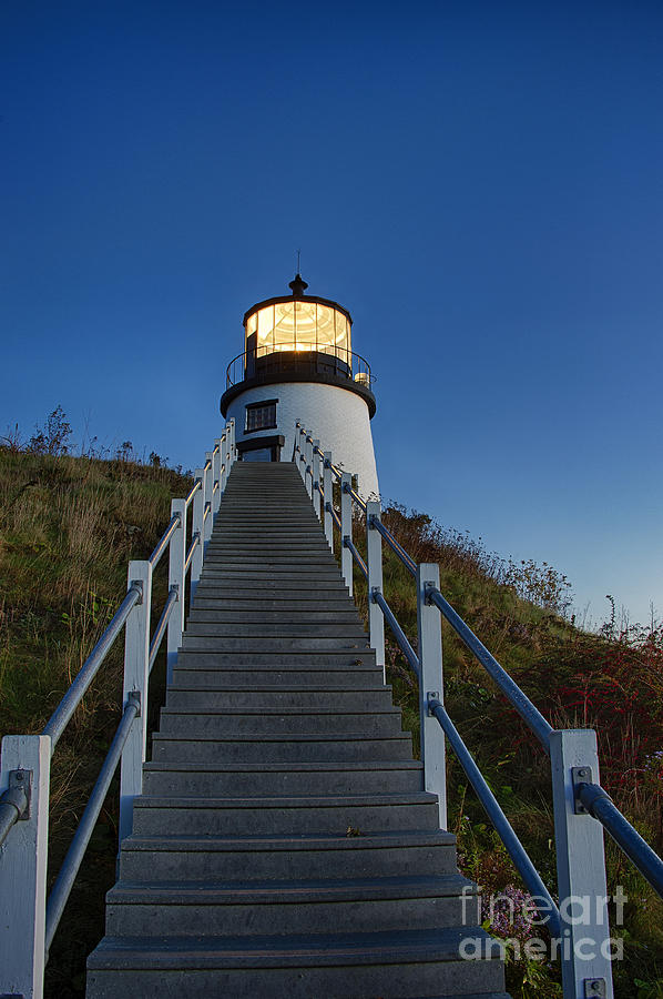 Owls Head Lighthouse Photograph  - Owls Head Lighthouse Fine Art Print