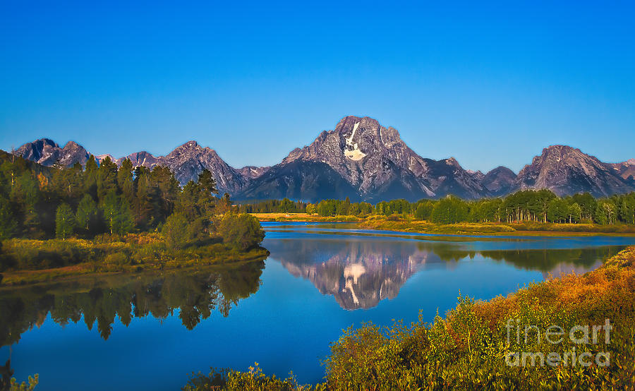 Oxbow Bend II Photograph  - Oxbow Bend II Fine Art Print