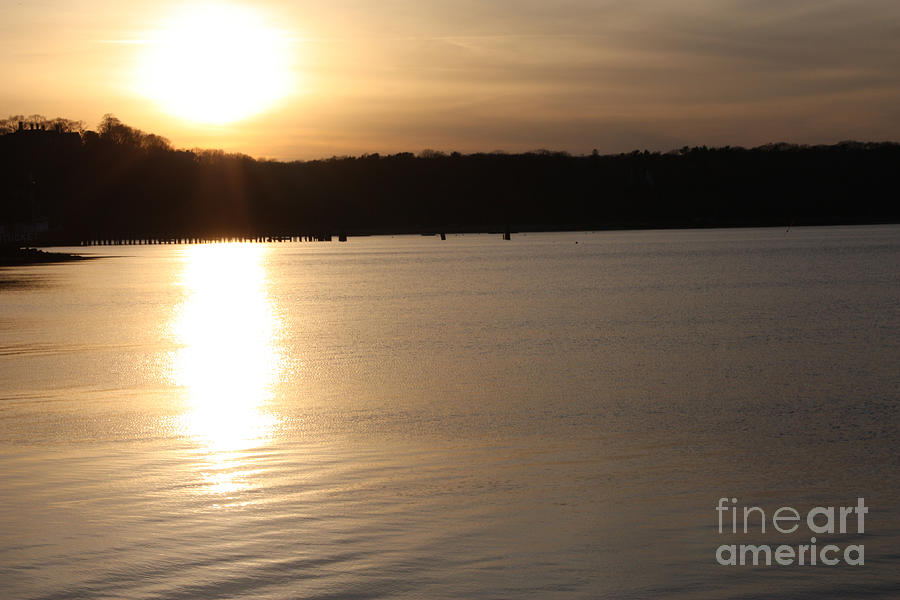 Oyster Bay Sunset Photograph  - Oyster Bay Sunset Fine Art Print
