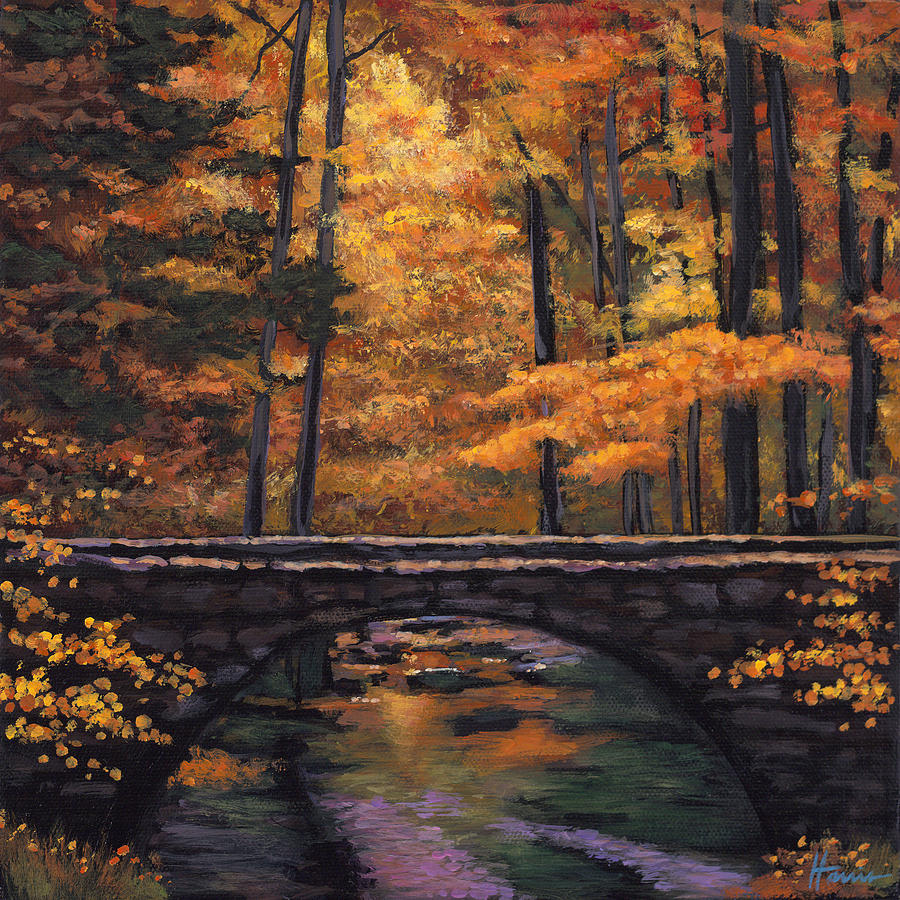 Ozark Stream Painting