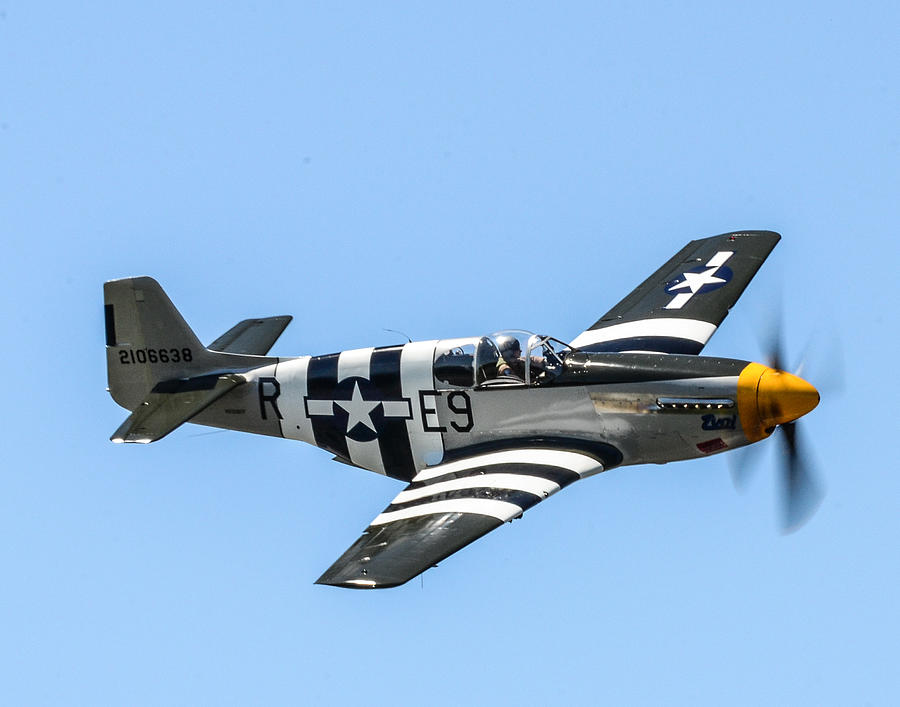 P-51 Mustang Fighter Photograph