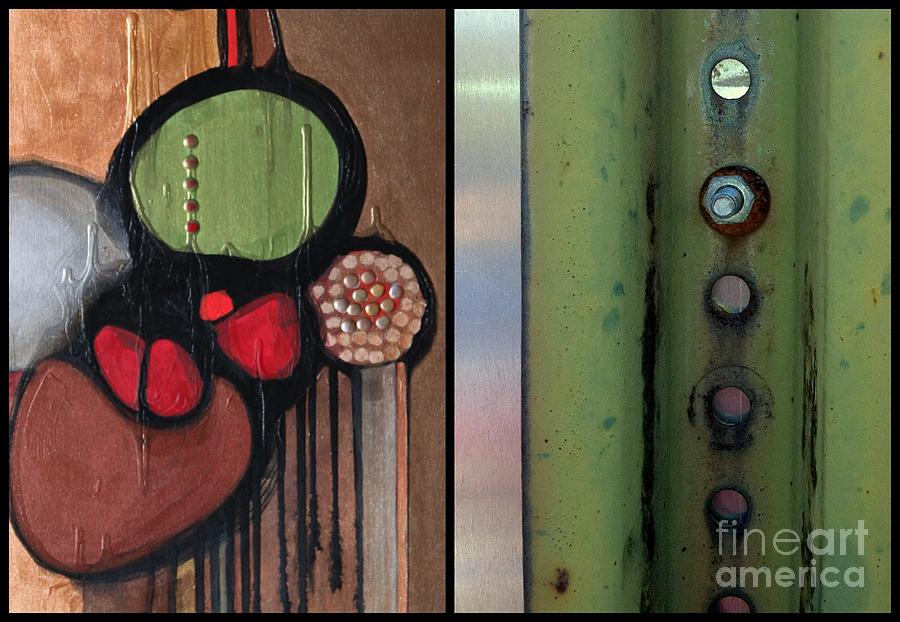 Abstract Photography Painting - p HOTography 139 by Marlene Burns