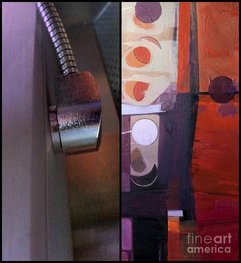 Diptych Painting - p HOTography 149 by Marlene Burns