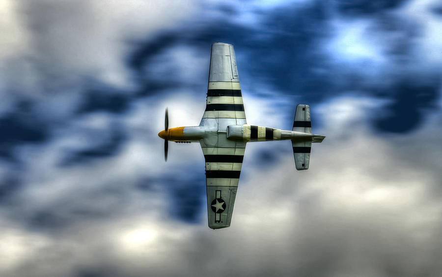 P51 Mustang Photograph - P51d Mustang Ferocious Frankie by Phil motography Clark