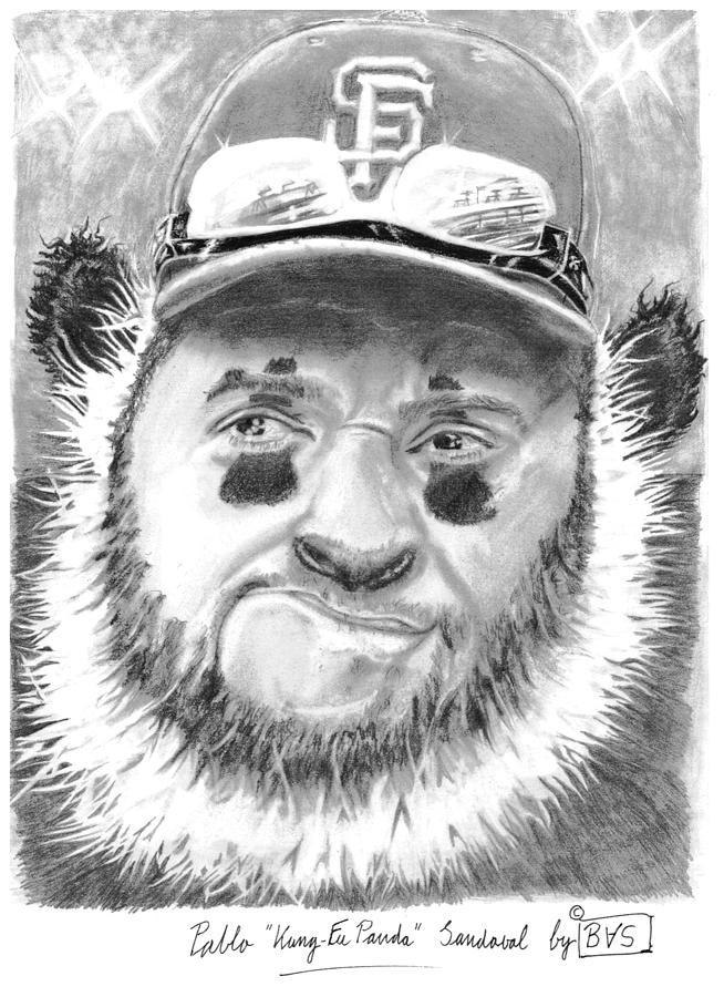 Pablo Kung Fu Panda Sandoval Drawing