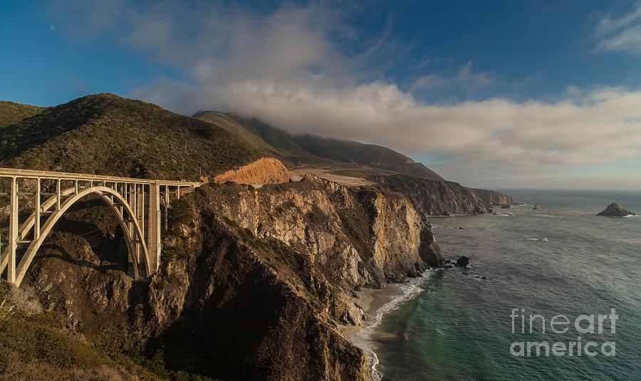 Pacific Coastal Highway Photograph