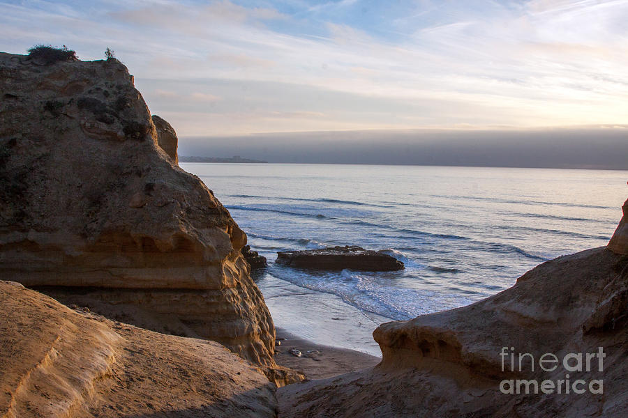 Pacific Ocean View From Above Cliffs Photograph