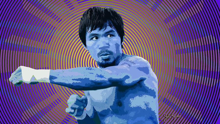 Manny Pacquio Digital Art - Pacquio 2 by John Keaton