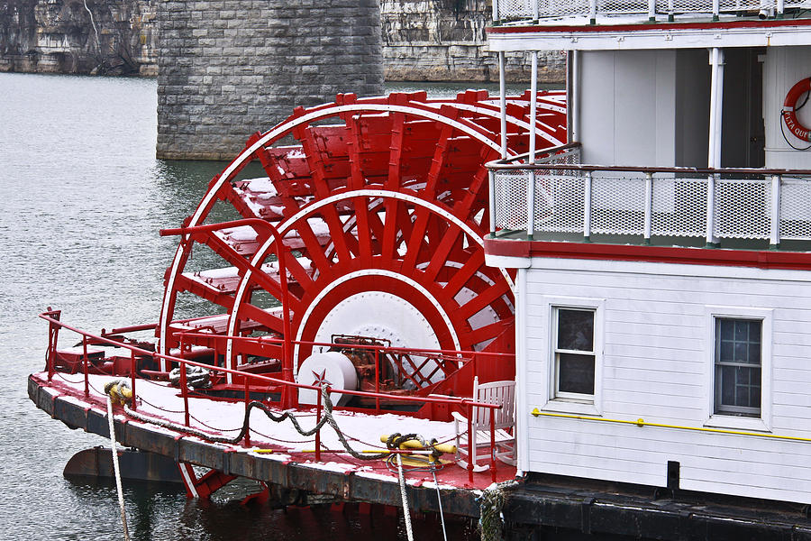 Paddle Wheel Photograph  - Paddle Wheel Fine Art Print
