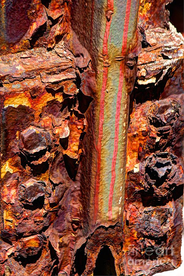 Paint Photograph - Paint And Rust 26 by Jim Wright