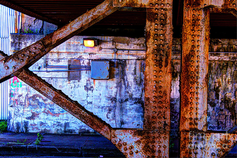 Paint And Rust 28 Photograph