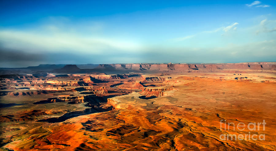 Painted Canyonland Photograph