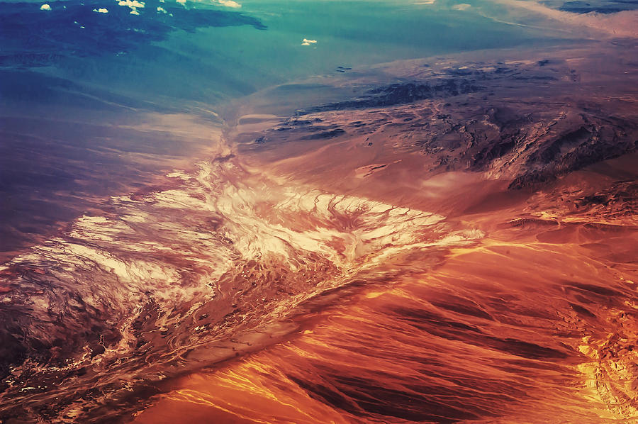Painted Earth Photograph