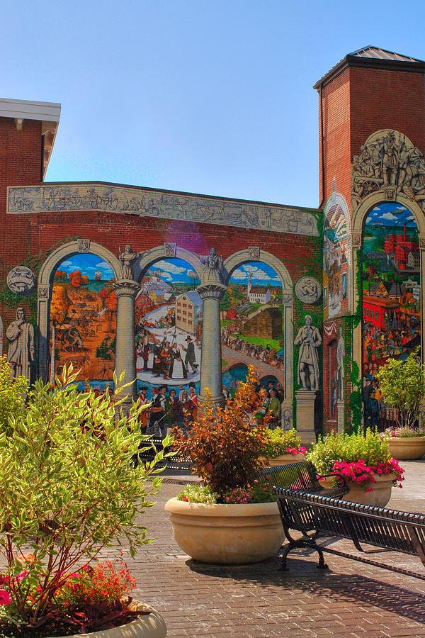 Mural Photograph - Painted History 4 by Joann Vitali