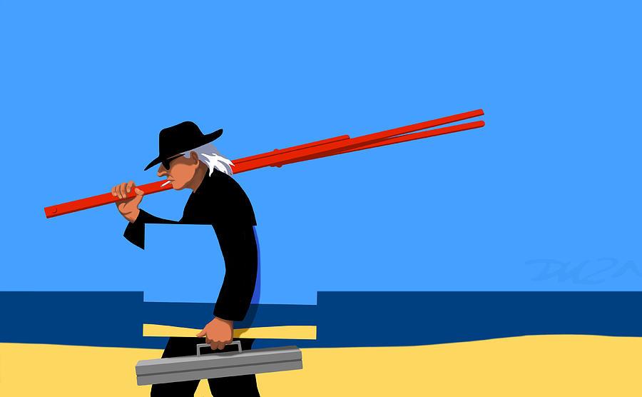 Dkzn Digital Art - Painter   by Tom Dickson