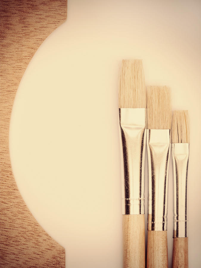 Painting Tools Photograph