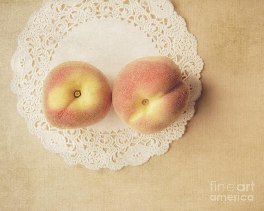 Pair Of Peaches Photograph