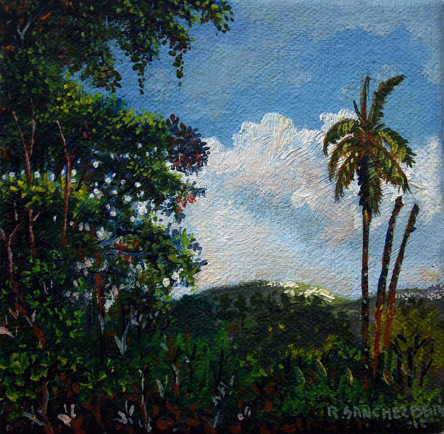 Ricardo Sanchez Beitia Painting - Paisaje De Campo by Ricardo Sanchez Beitia
