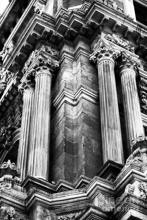 Palace Columns Photograph