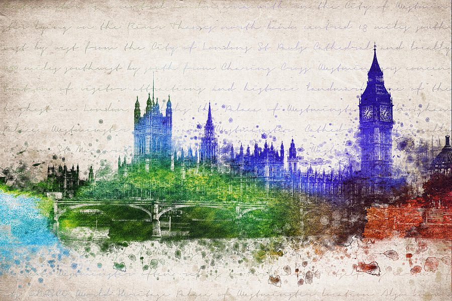 Palace Of Westminster Digital Art