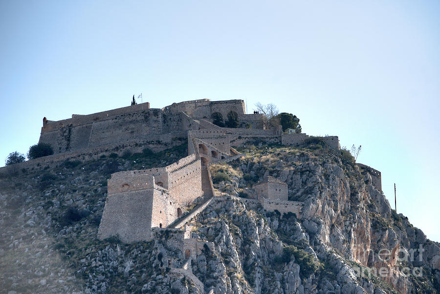 Palamidi Castle Nafplio Greece Photograph by Deborah Smolinske