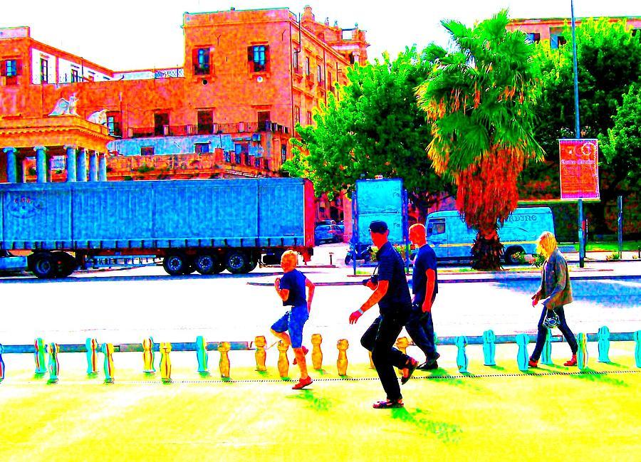 Palermo Walk Photograph
