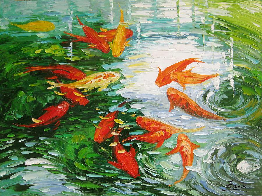Koi Fish Paintings
