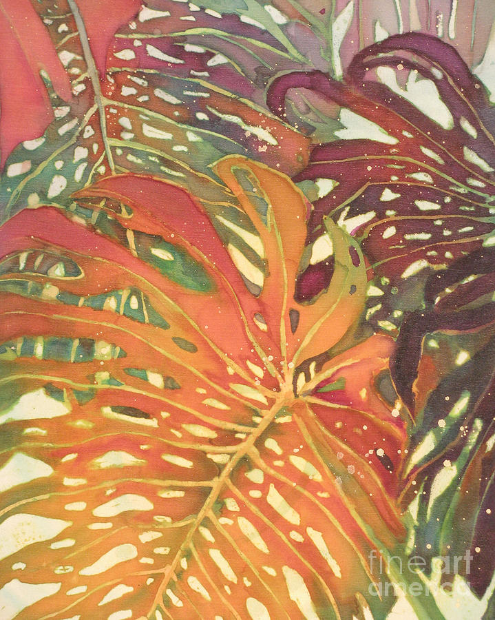 Palm Patterns 2 Painting  - Palm Patterns 2 Fine Art Print