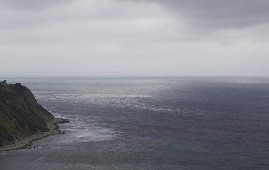 Palos Verdes In Rainy Day Photograph