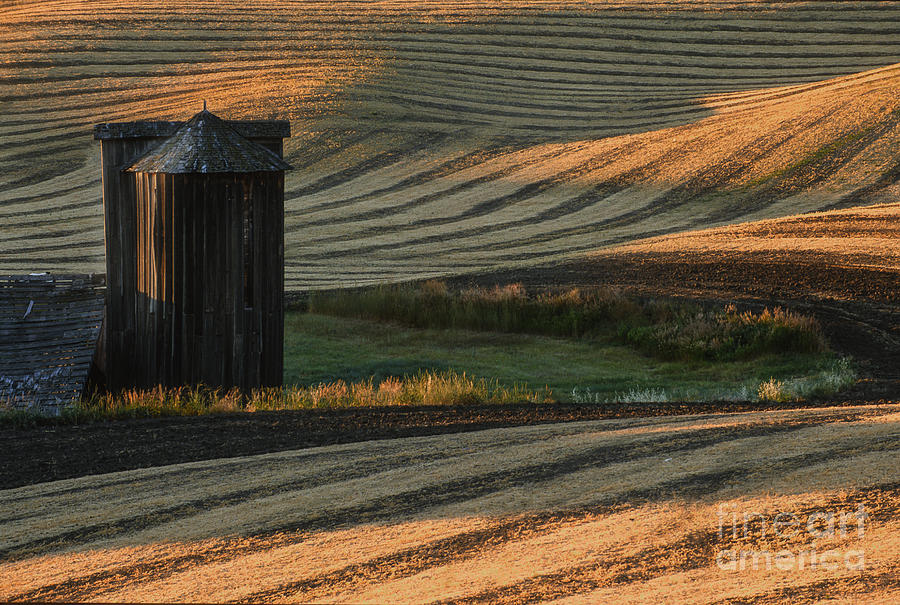 Palouse Sunset Photograph
