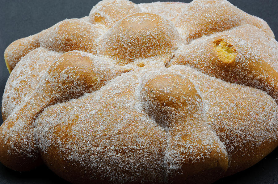 pan De Muerto Muerto Pan Break Dead bread Of The Dead Photograph - Pan ...