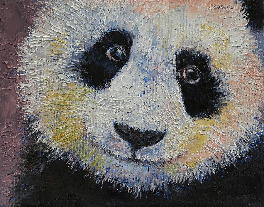Panda Smile Painting