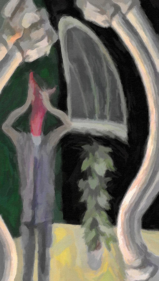 Panic In My Habitat Painting