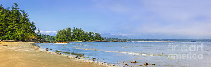 Panorama Of Pacific Coast On Vancouver Island Photograph