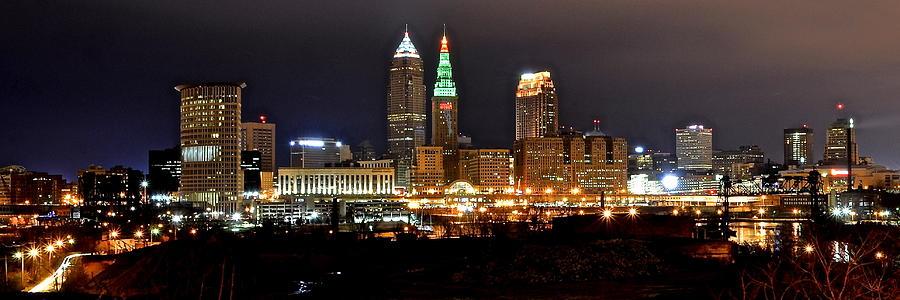 Panoramic Cleveland Photograph