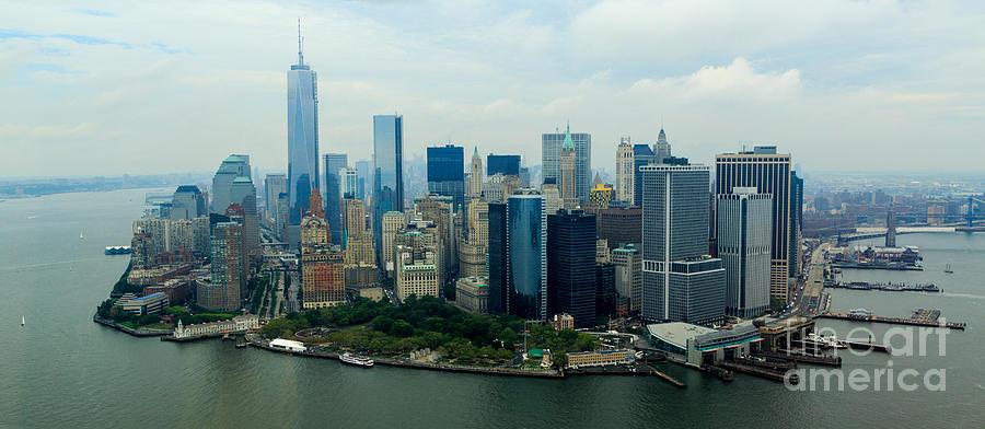 Panoramic Manhattan Photograph