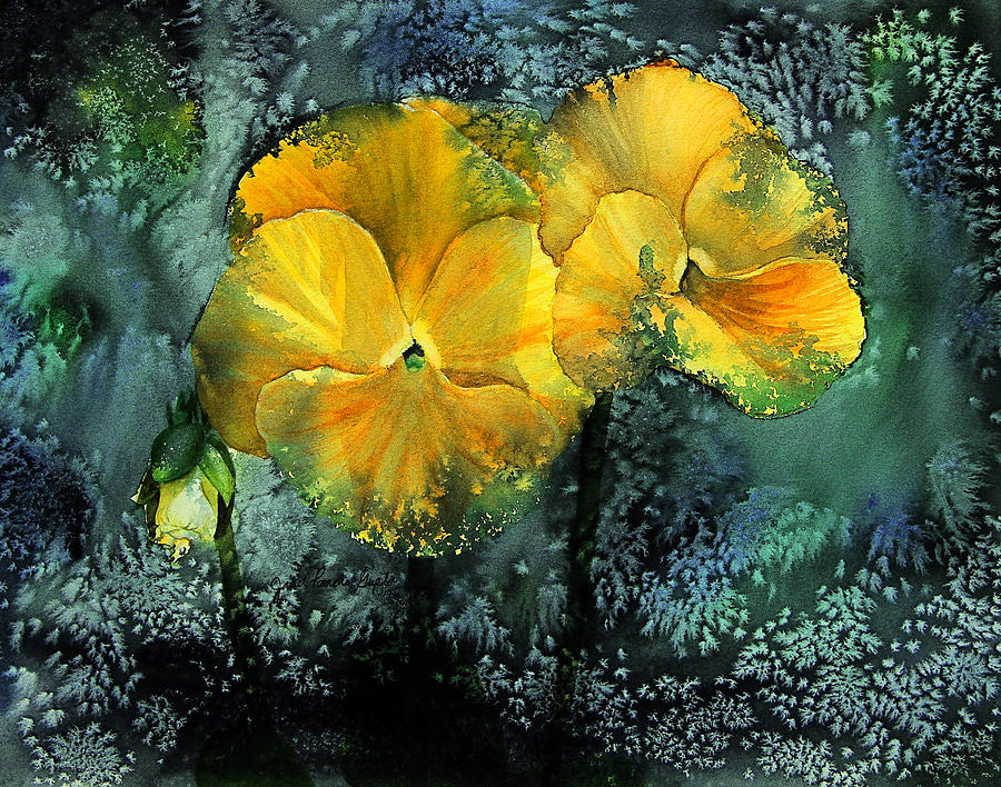 Pansy Dreams Painting Painting