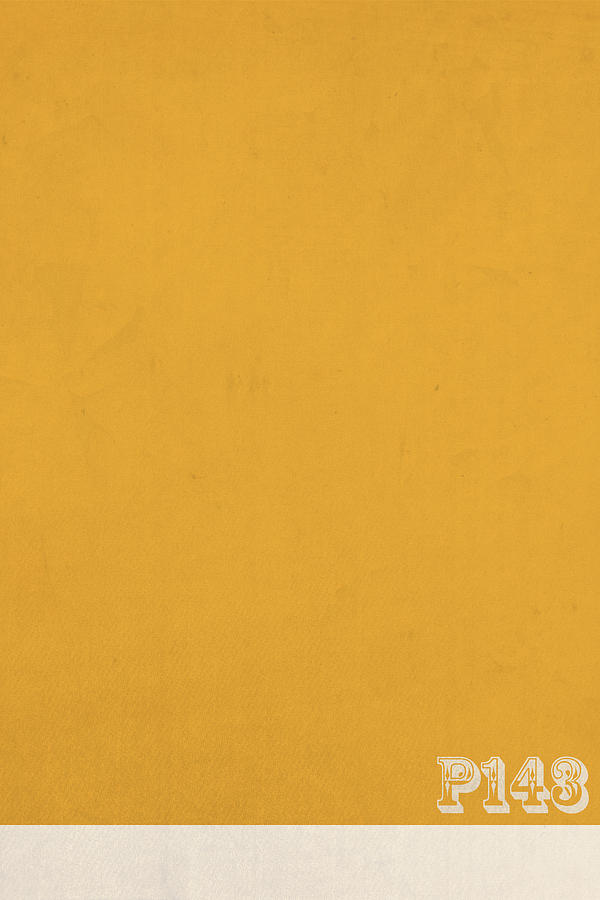 Pantone Mixed Media - Pantone 143 Mustard Yellow Color On Worn Canvas ...