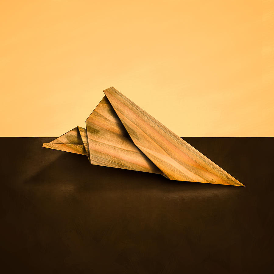 Aircraft Photograph - Paper Airplanes Of Wood 2 by Yo Pedro