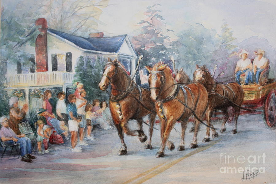 Parade Painting