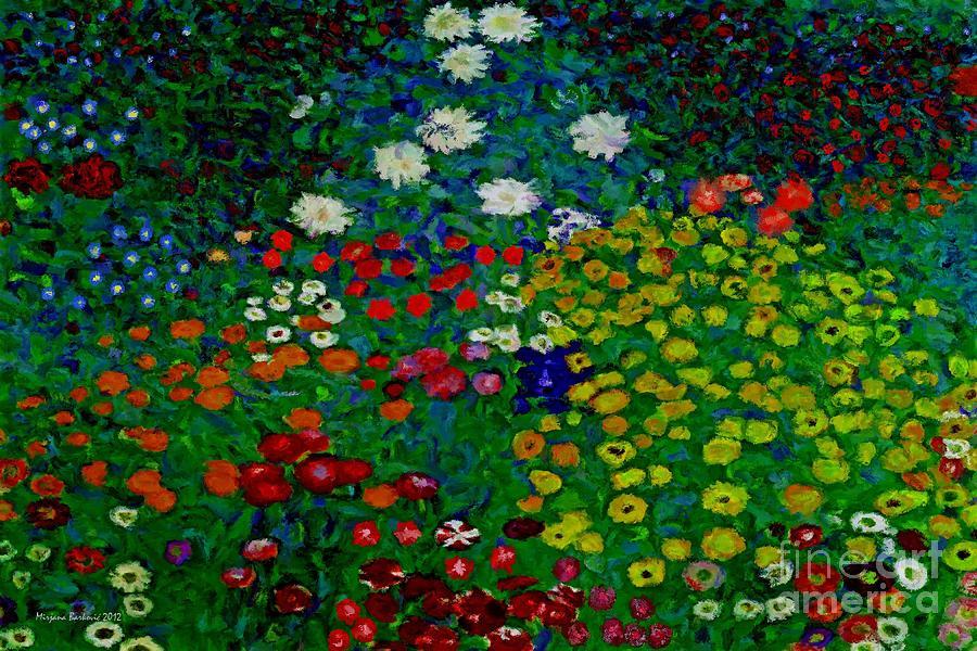 Paradise Flowers Painting