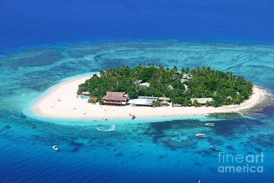 Paradise Island In South Sea IIi Photograph  - Paradise Island In South Sea IIi Fine Art Print