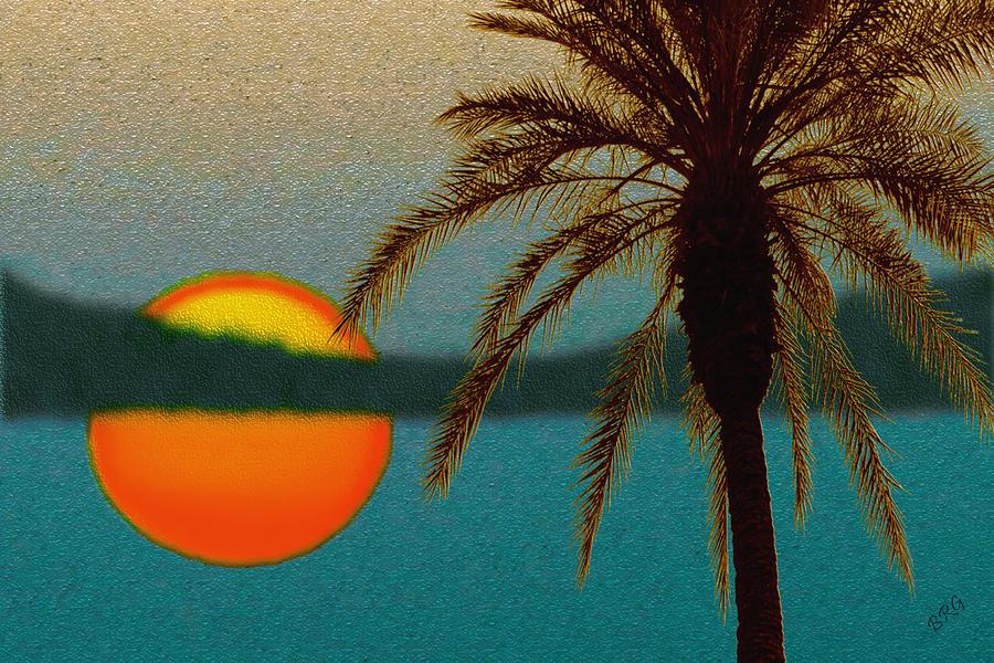 Paradise Sun Digital Art