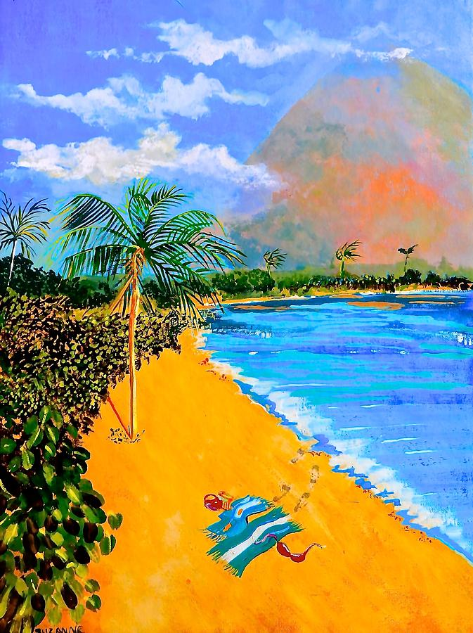 Tropical Painting - Paradise by Susan Robinson