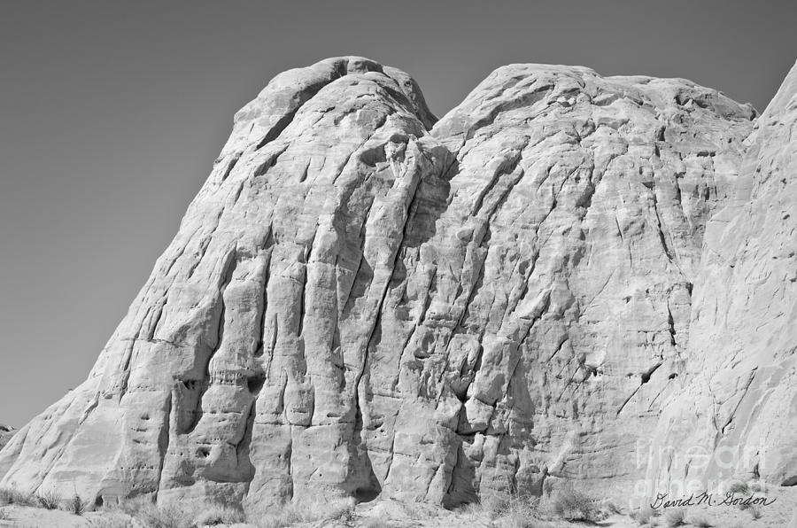 Black Photograph - Paria Utah X by Dave Gordon