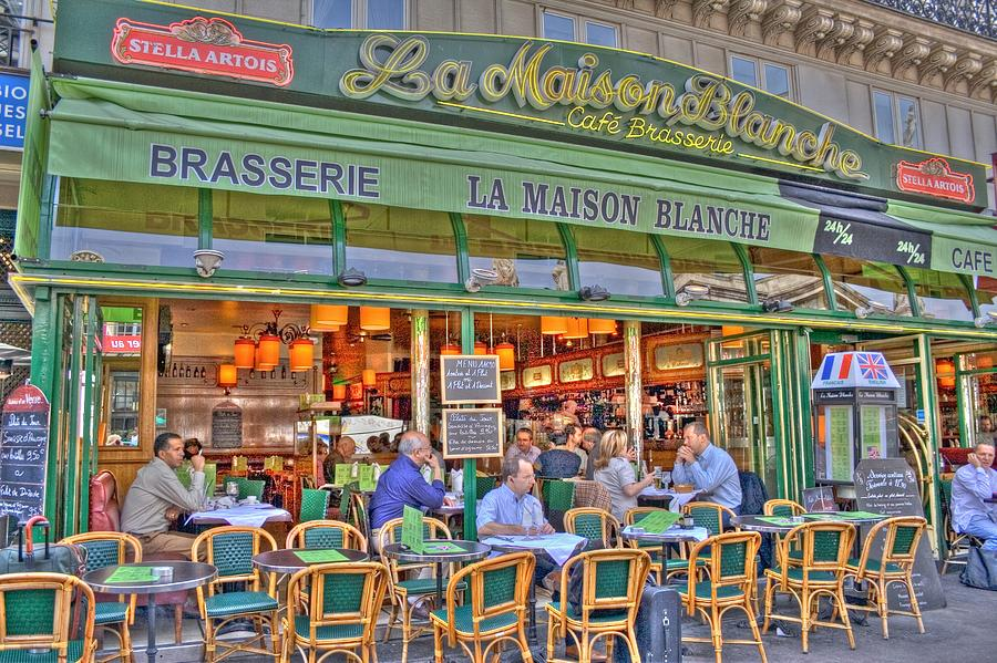 Paris Cafe In Summer Photograph